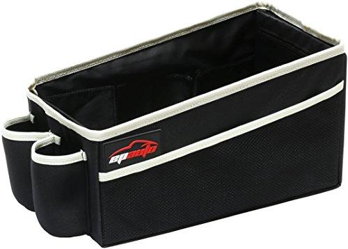 EPAuto Premium Travel Pal Car Seat Organizer Storage Bin, Drink Holder (Storage Bins For Cars compare prices)