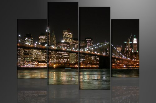 Picture - art on canvas New York length 51