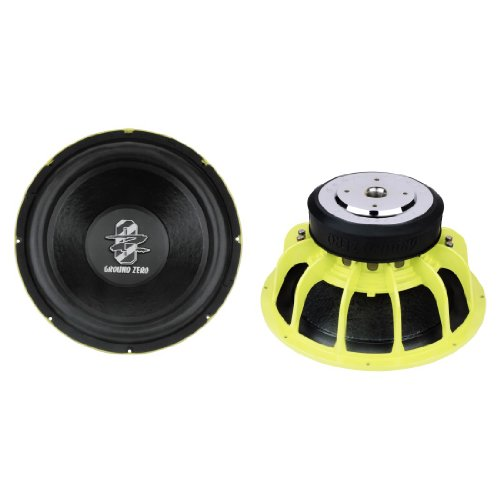 Ground Zero GZRW 38SPL 38cm Subwoofer 1500Watt SPL Power