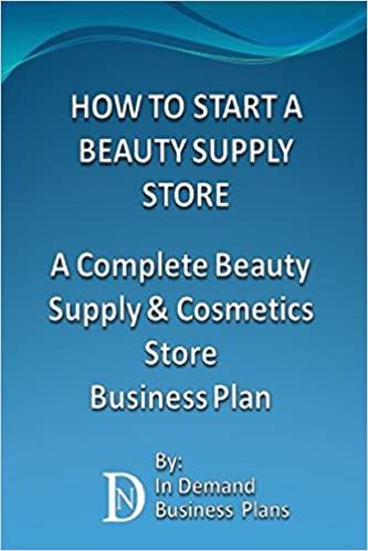 business plan beauty products shop