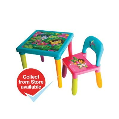 Dora the Explorer Table and Chair