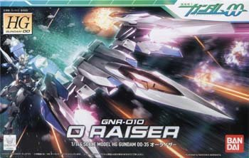 HG Gundam 00 35: O Raiser 1/144 scale model kit