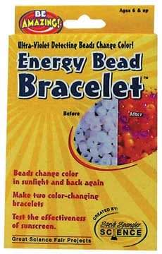 Be Amazing! - Energy Beads, Peg Box, Ultra-violet (UV) Light Detectors