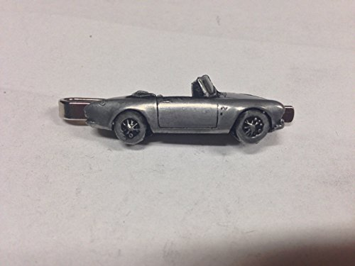 sunbeam-alpine-mk2-ref241-pewter-effect-emblem-on-a-tie-clip-slide-handmade-in-sheffield-comes-with-