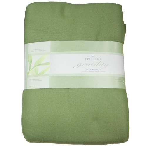 Gentility© Polar Fleece Massage Table Blanket (Sage)