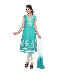 Sareeshut Women's Cotton Regular Fit Anarkali Suits - B00WQZ6T84