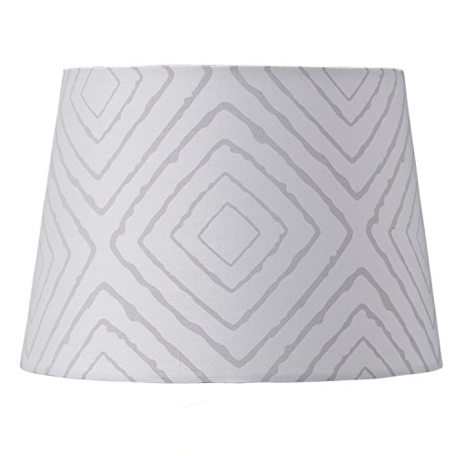 Lolli Living Lampshade, Grey Maze - 1