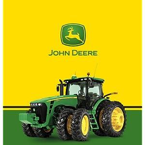 John Deere Plastic Tablecover 2