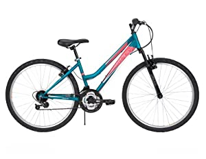 Huffy Bicycles 26353 Tundra Mountain Bike, Ladies, Teal, 26-In. by Huffy