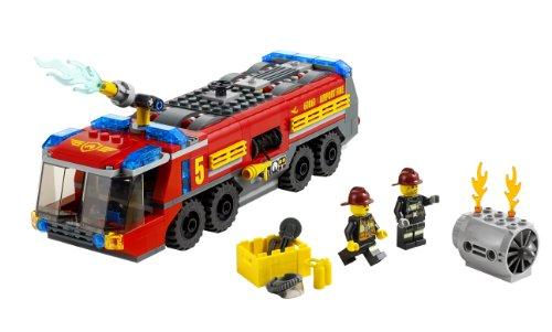 レゴ シティ エアポートファイヤートラック 60061
