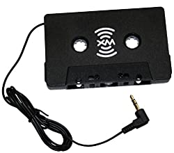 SIRIUSXM XMTTZ00257 Satellite Radio Auto Vehicle Cassette Adapter