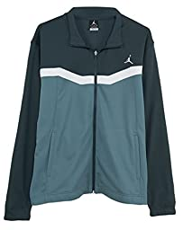 Jordan Prime Fly Zip-up Jacket Mens Style : 547631, Black/grey/white, 2XL