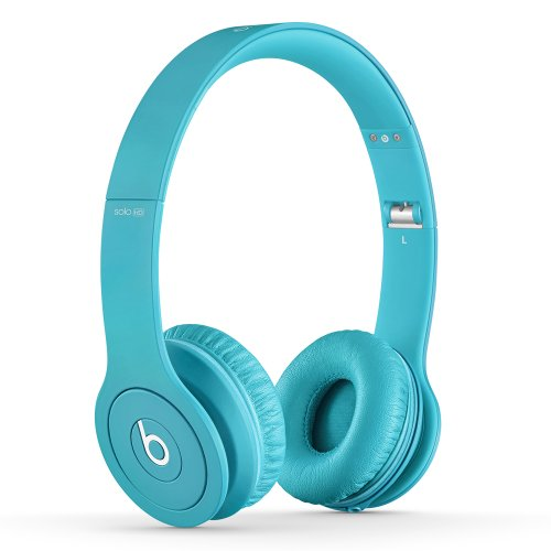 Beats Solo HD On-Ear Headphones (Drenched in Light Blue)