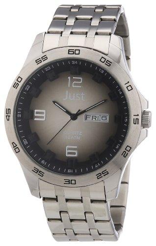 Just Watches 48-S3455-Bk-BK - Orologio uomo