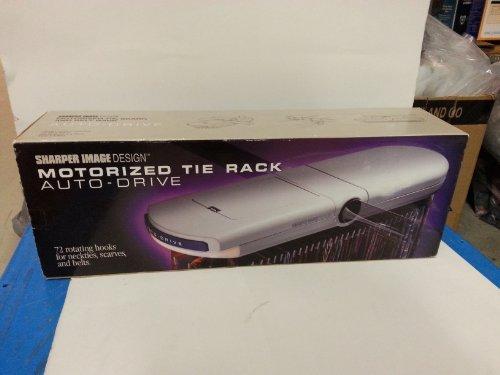 sharper-image-motorized-tie-belt-scarf-rack-by-sharper-image