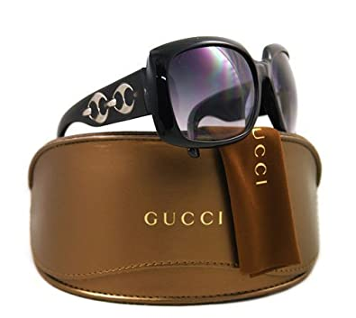 GUCCI GG 3062/S Sunglasses 3062S Black Crystal U6DJJ Shades