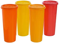 Tupperware Jumbo Tumblers Set, 470ml, Set of 4 (212)