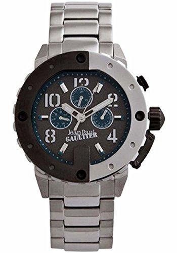 Jean Paul Gaultier Hombre Reloj de pulsera analógico cuarzo acero inoxidable 8500206