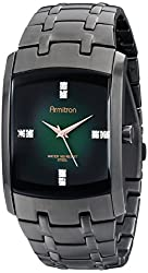 Armitron Men's 20/4507GNDG Swarovski Crystal-Accented Stainless Steel Watch