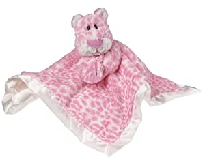 Mary Meyer Marshmallow Character Blanket, Lovey Leopard (Discontinued by Manufacturer)