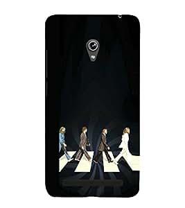 EPICCASE Beatles Conspiracy Mobile Back Case Cover For Asus Zenfone 6 (Designer Case)