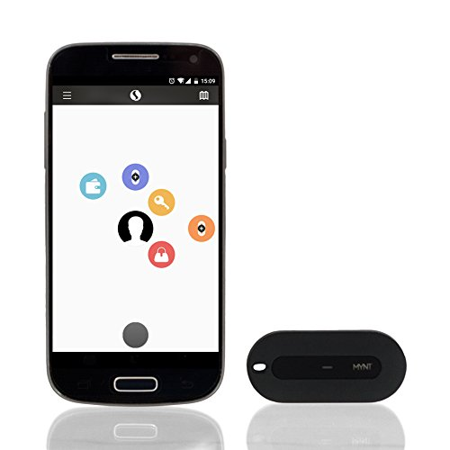 MYNT Smart Item Finder And Remote Control New Edition: tracker, phone finder, key finder, wallet locator, camera shutter, music remote, presentation remote (Black) (Locators For Remotes compare prices)