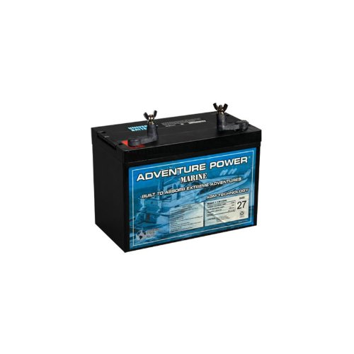 UPG 40602 Ub12900 Group 27 Marine Sealed Lead Acid Battery