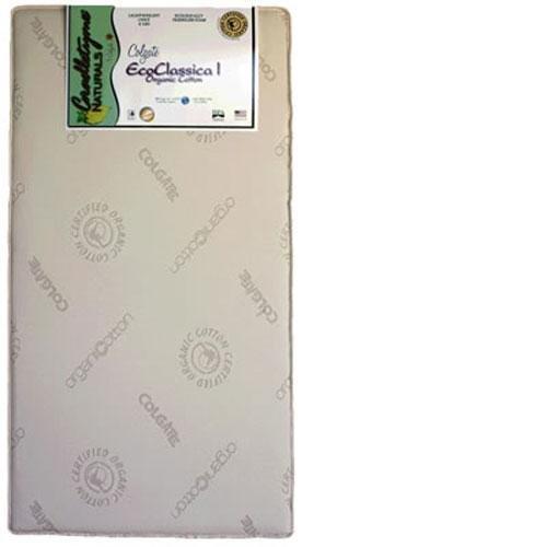 Colgate Eco Classica I Organic Cotton Crib Mattress, Ecru front-609791