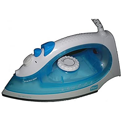 INEXT IN-901ST3 STEAM IRON, WITH SPRAY & BURST FEATURE. FREE! 03 WATT UNITED BRAND LED BULB
