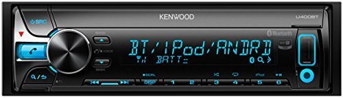 KENWOOD MP3/WMA/AAC/WAV対応CD/USB/BTレシーバー U400BT