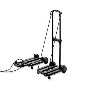 STB390006BLK - Three-Way Luggage/Dolly Cart