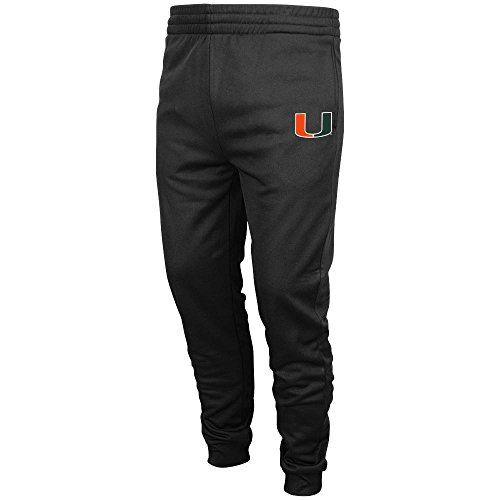 Mens NCAA Miami Hurricanes Jogger Pants (Team Color) - 2XL (Miami Hurricanes Football Pants compare prices)