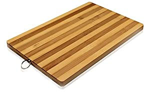 Premium Bamboo Wood Kitchen Cutting Board- Eco-friendly Strong Thick Chopping Board (10X15)