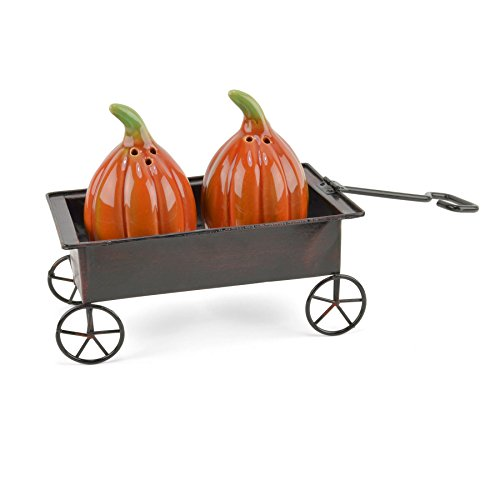 Pumpkin Wagon Salt & Pepper Set