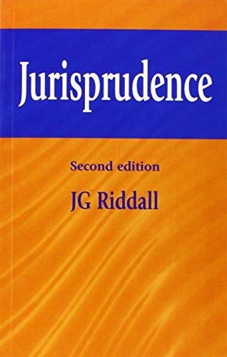 Jurisprudence, by J. G. Riddall