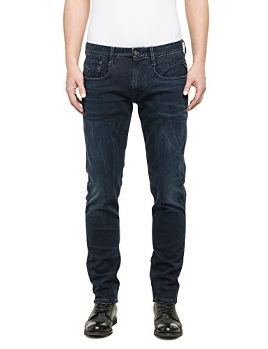 Replay - Anbass, Jeans da uomo, Blue Denim 7, W33/L32 (33)