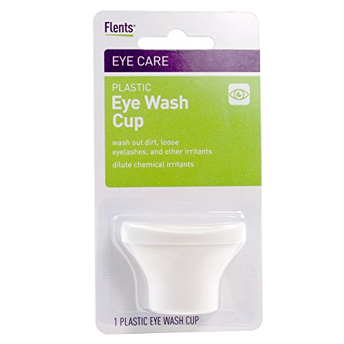 Flents Plastic Eye Wash Cup - (White)
