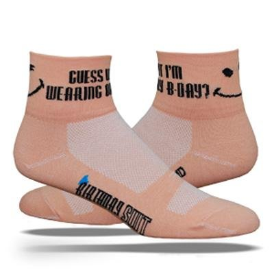 Buy Low Price DeFeet AirEator 2.5in Birthday Suit Cycling/Running Socks (B004I95XEC)