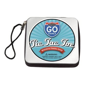 Tic Tac Toe Portable Magnetic Game