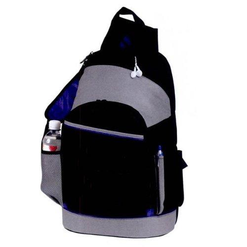 Yens® Fantasybag En Masse Laptop Sling Backpack-Gray/Black, Scb-683 front-271915