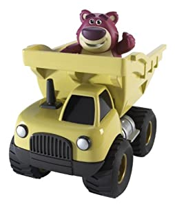 Toy Story Pull and Go Lotso's Dump Truck Vehicle
