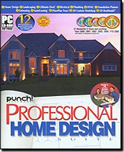 Punch! Professional Home Design Suite