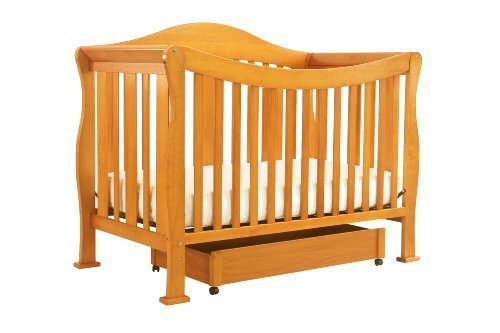 Davinci Parker 4-In-1 Convertible Crib With Toddler Bed Conversion Kit Oak