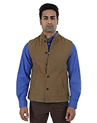 Indian Terrain Men's Jackets (8907190128779_Brown_X-Large)