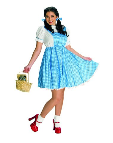 Rubies Costume Co Women's Wizard Of Oz Dorothy Plus Size Costume