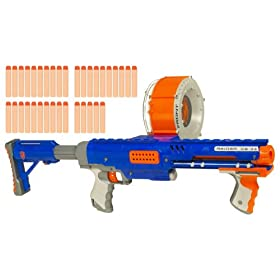 Nerf N-Strike Raider Rapid Fire CS-35 Dart Blaster - Blue