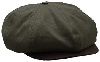 Brixton Men's Brood Snap Cap, Green, Small