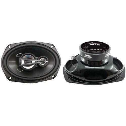 Lanzar Mx693 Max Series 6-Inch X 9-Inch 600-Watt 3-Way Coaxial Speakers (Pair)