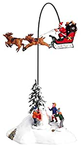 Lemax 34678 Santa Claus Is Coming to Town Christmas Village Animated Decor