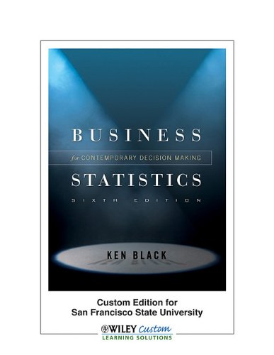 applied statistics for business decision making